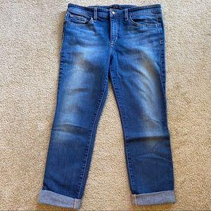Joes Jeans Lizzie Fit Cropped Denim